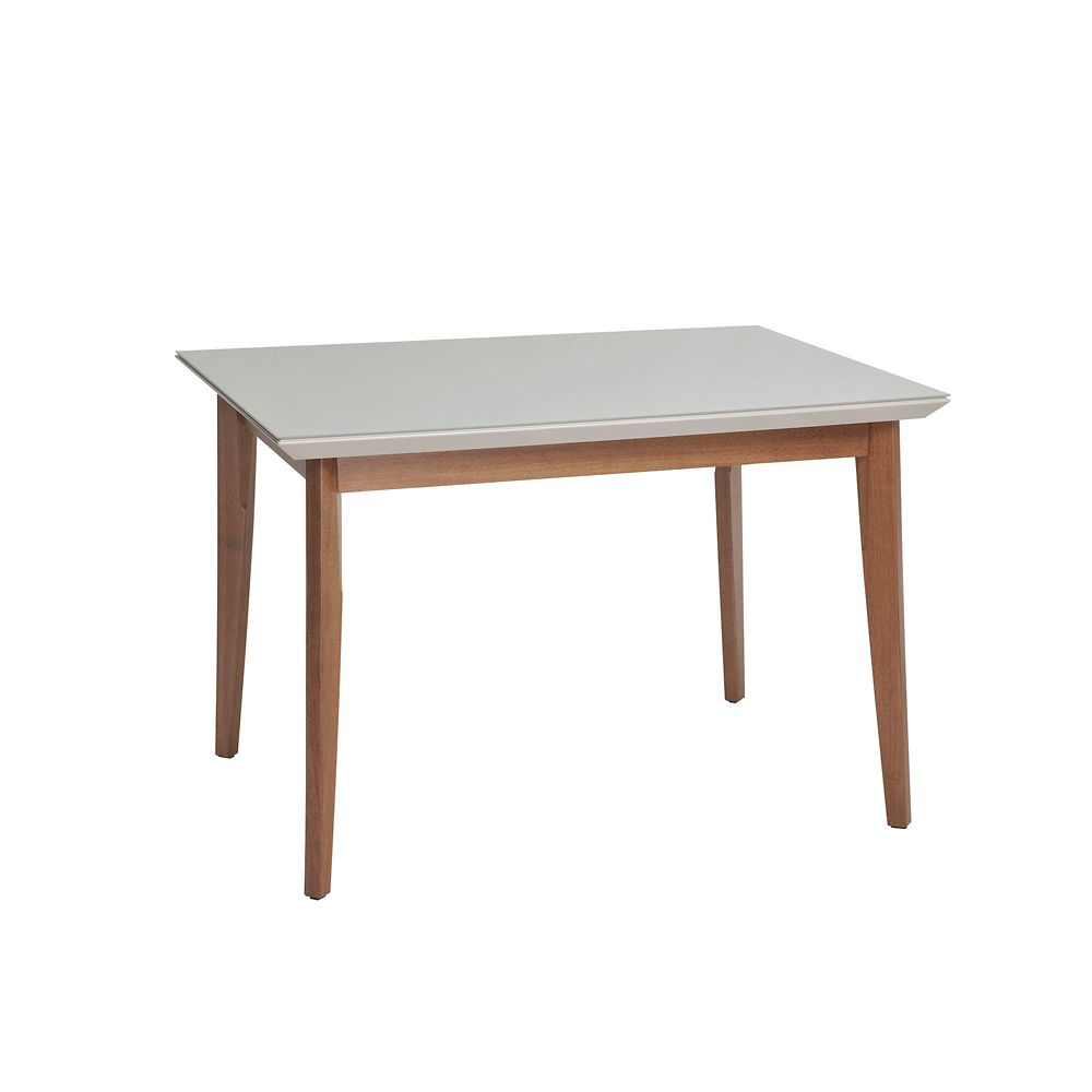 """Manhattan Comfort Lillian 45.66"""" Dining Table in Off White"""