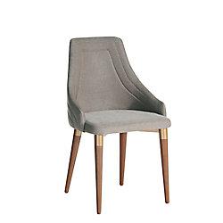 Manhattan Comfort Utopia 2.0 Dining Armchair in Grey