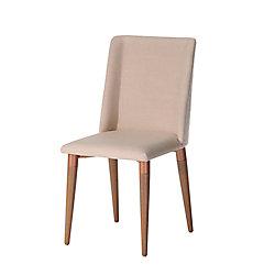 Manhattan Comfort Tampa Dining Chair in Dark Beige