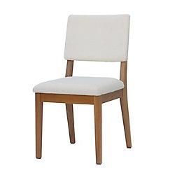 Manhattan Comfort Dover Dining Chair in Beige