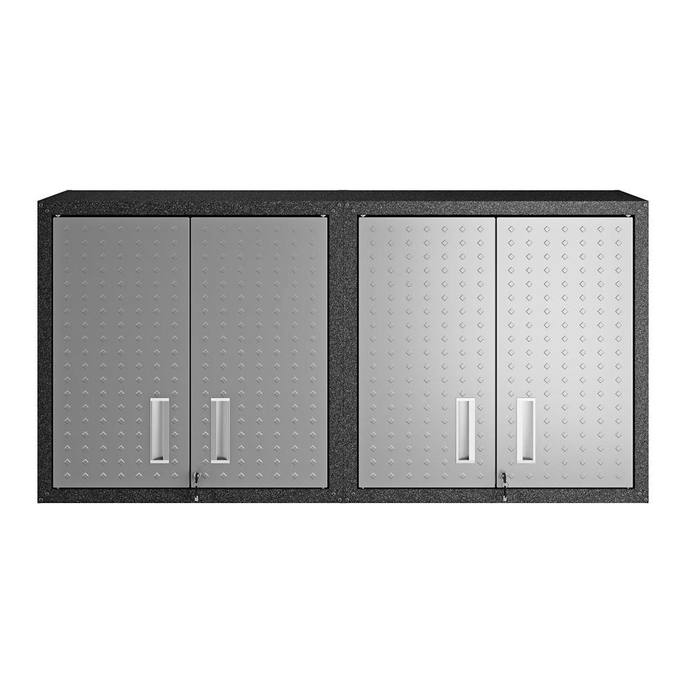 Manhattan Comfort Fortress Floating Garage Cabinet - Set of 2