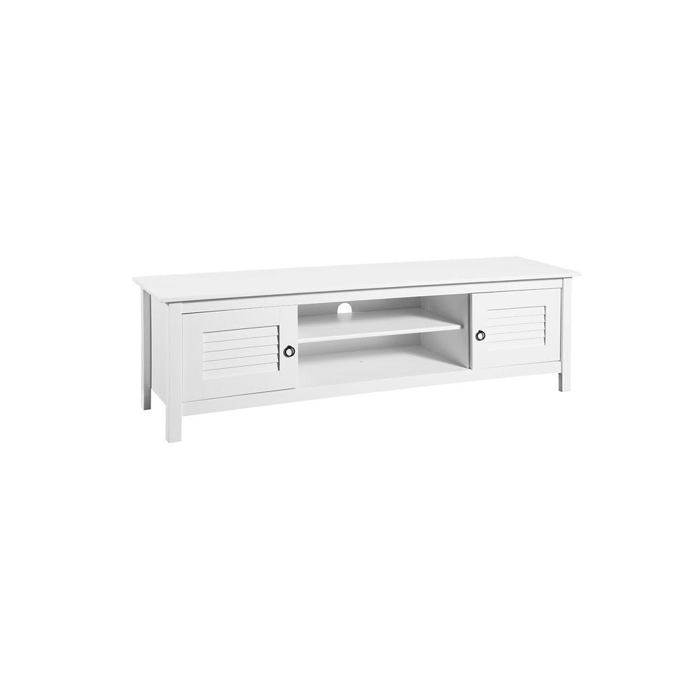 "Manhattan Comfort Sullivan 62.2"" TV Stand in White"