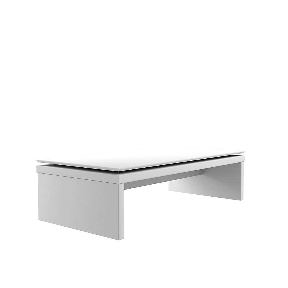 Pleasant Lincoln Rectangle Coffee Table In White Gloss And Maple Cream Uwap Interior Chair Design Uwaporg
