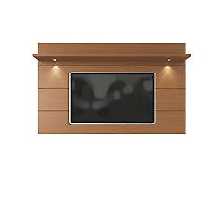 Manhattan Comfort Cabrini Floating Wall TV Panel 2.2 in Maple Cream