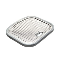 Wessan Stainless Steel Utility Tray -  14.5 inch x 17 3/10 inch x 1  inch