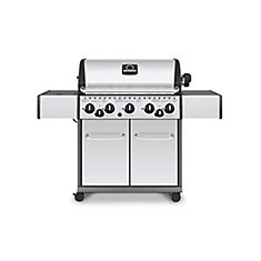 5 Burner BBQ with Side Burner and Rotisserie - NG