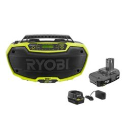 RYOBI 18V ONE+ Hybrid Stereo Kit with Battery and Charger