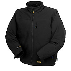 Heated Soft Shell Jacket with 20 V Max Battery, Charger and Adapter