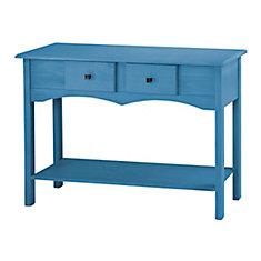 Jay 49,21 pouce Buffet avec 2 tiroirs complets en bleu