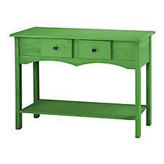 Jay 49,21 pouce Buffet avec 2 tiroirs complets en vert