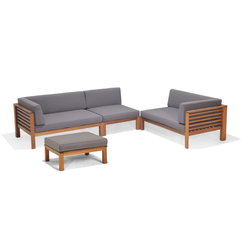 Docklands 4-Piece Deep Seating Set
