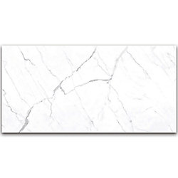 Enigma Statuario 24-inch x 48-inch Polished Rectified Porcelain Tile (15.5 sq.ft. / case)
