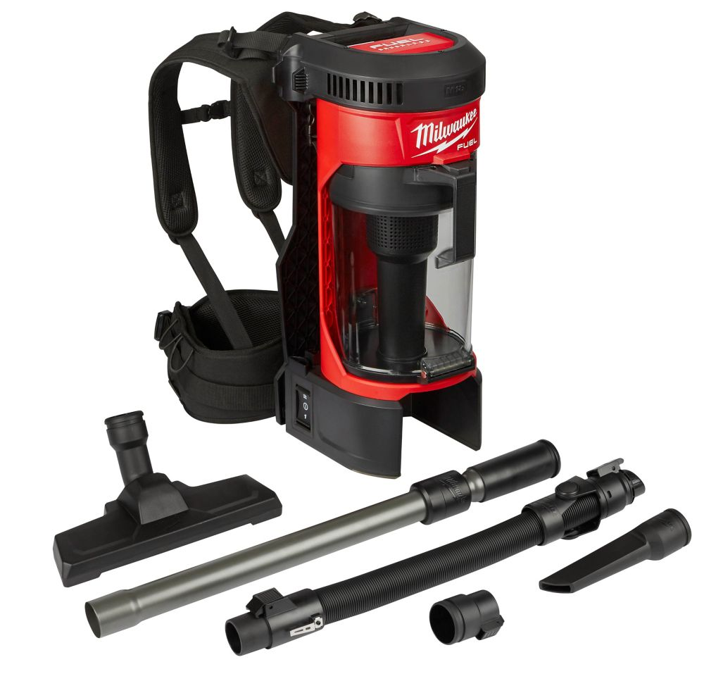Milwaukee Tool M18 FUEL 18V Lithium-Ion Brushless 1 Gal. Cordless 3-in-1 Backpack Vacuum (Tool-Only)