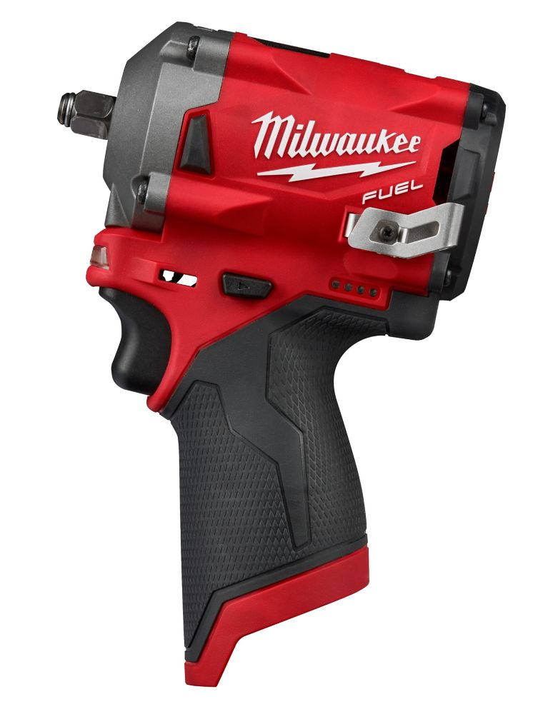 Milwaukee Tool M12 FUEL 12V Lithium-Ion Brushless Cordless Stubby 3/8-Inch Impact Wrench 2554-20