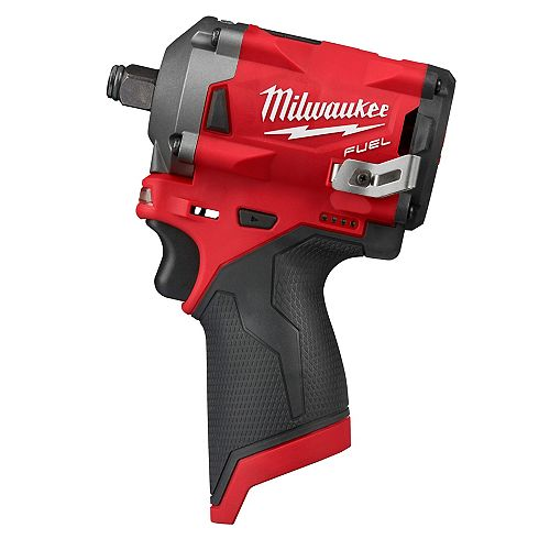 M12 FUEL 12V Lithium-Ion Brushless Cordless Stubby 1/2-Inch Impact Wrench (Tool-Only)