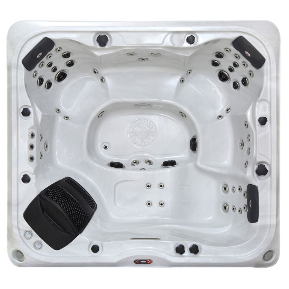 Canadian Spa Company Alberta SE 6-Person 57 Jet Hot Tub