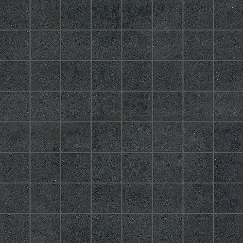 Enigma Division Black 1.5-inch x 1.5-inch Matte Porcelain Mosaics  (10 sq.ft. / case)