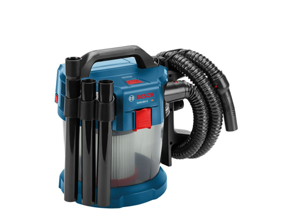 Bosch 18V 2.6-Gallon Wet/Dry Vacuum Cleaner with HEPA Filter (Bare Tool)