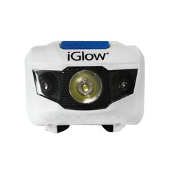 iGlow 1+2 LED Head Light (2-Pack)