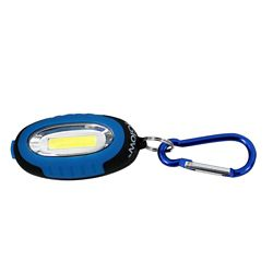 iGlow 3W COB Keychain Light (2-Pack)