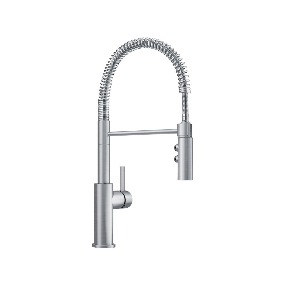 Blanco CATRIS Pull-Down Dual Spray Semi Pro Kitchen Faucet - Stainless Finish