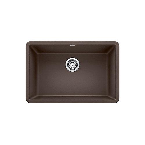 PRECIS U SINGLE 27, Single Bowl Undermount Kitchen Sink - Café SILGRANIT Granite Composite