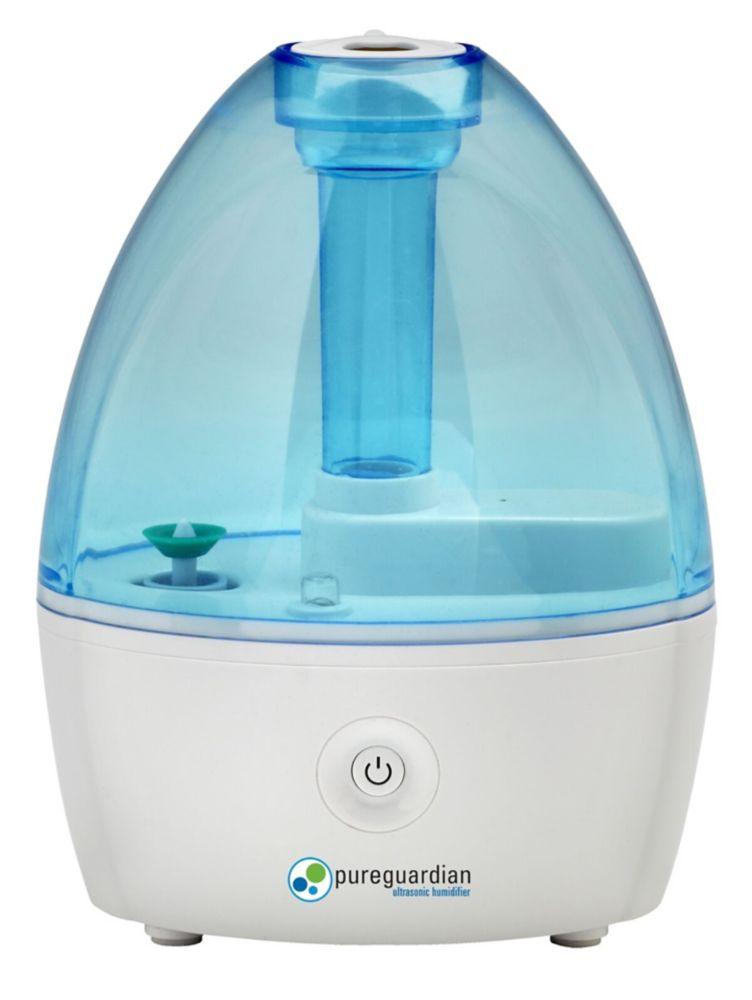 PureGuardian Pureguardian 14-Hour Nursery Ultrasonic Cool Mist Humidifier