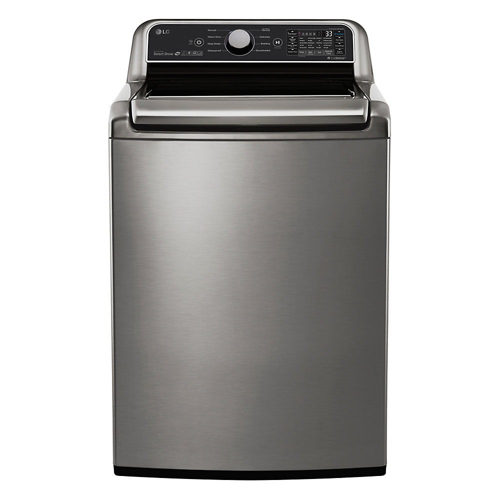 5.8 cu.ft Top Load Washer with in Graphite Steel, ENERGY STAR®