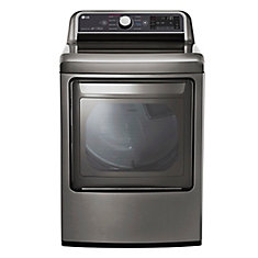 7.3 cu.ft. Front Load Electric Dryer in Graphite Steel - ENERGY STAR®