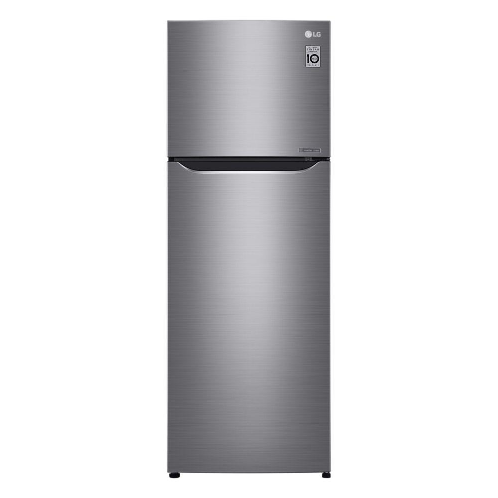 LG Electronics 24-inch W 11 cu.ft. Top Freezer Refrigerator in Platinum Silver, Counter Depth