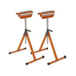 Bora Portamate Tri-Function Pedestal Roller Stand (2-Pack)