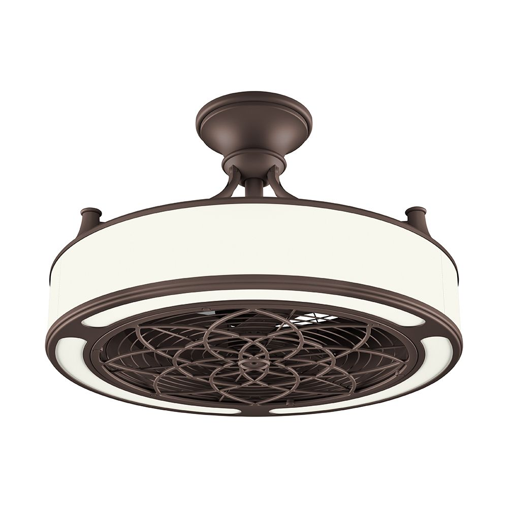 Anderson 22-inch LED Indoor/Outdoor Bronze Ceiling Fan with Remote Control