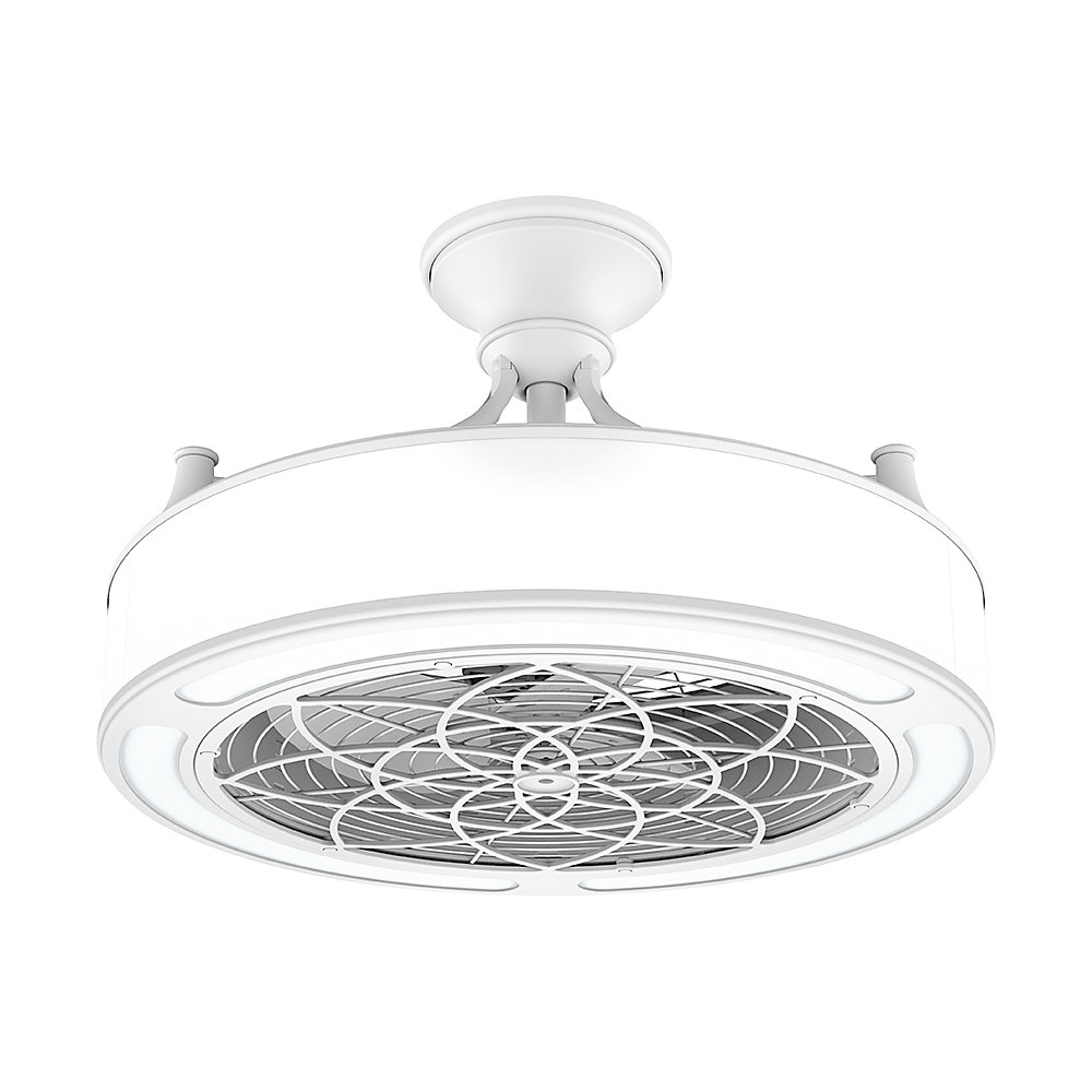 Stile Anderson 22 Inch Led Indoor Outdoor White Ceiling
