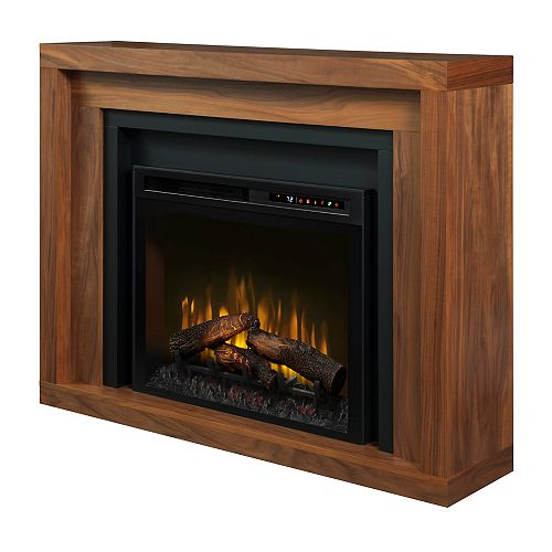 Dimplex Anthony Mantel Electric Fireplace with Log Bed