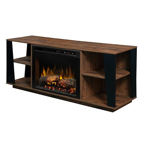 Dimplex Arlo Media Console Electric Fireplace with Log Bed