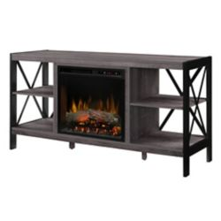Dimplex Ramona Media Console Electric Fireplace with Log Bed