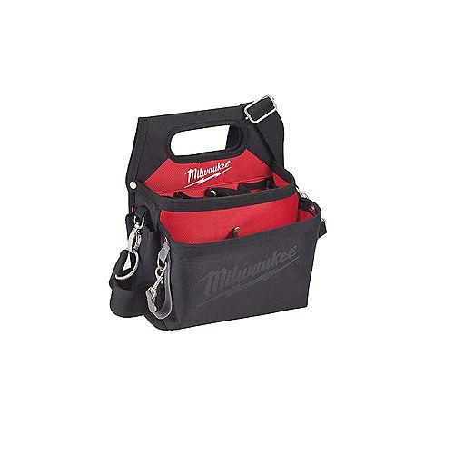 Milwaukee Tool Pochette de travail/holster 15 poches pour électriciens avec ceinture à réglage rapide