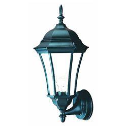 Acclaim Bryn Mawr Collection Wall-Mount 1-Light Outdoor Matte Black Light Fixture