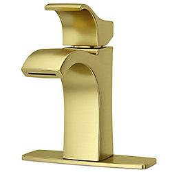 Pfister Venturi Single Control Lav Faucet in Brushed Gold