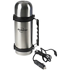 12V Double Wall Insulated 1L Flask