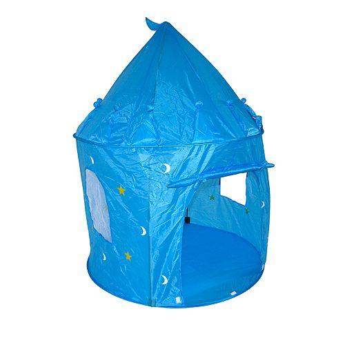 Kidsquad Blue Royal Castle Play Tent