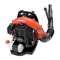ECHO 58.2cc Gas 2-Stroke Cycle Backpack Leaf Blower with Tube Throttle