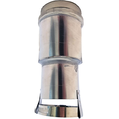 Z-Vent 2.5 inch. to 3 inch. Vent Adapter