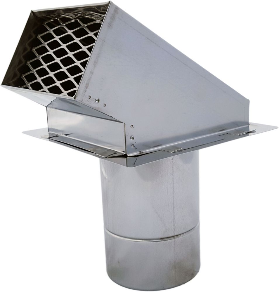 Z Flex Z Vent 4 Inch Termination Hood The Home Depot Canada