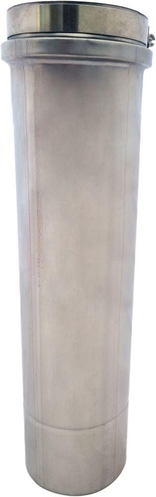 Z Flex Z Vent 4 Inch Diameter Single Wall Pipe 3 Ft