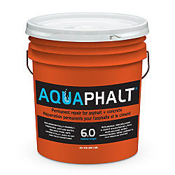 Aquaphalt 6.0 (Medium) 23 kg Permanent Asphalt Repair Patch