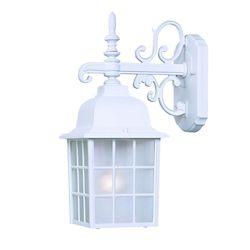 Acclaim Luminaire mural extérieur blanc à 1 ampoule de la Collection Nautica