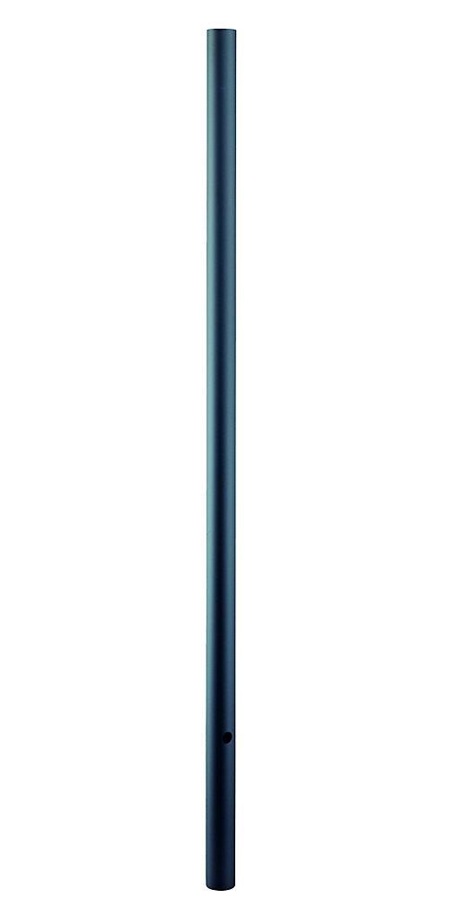 Poteau de lanterne lisse de 2.13m ou 7 pieds de sous la pleine terre