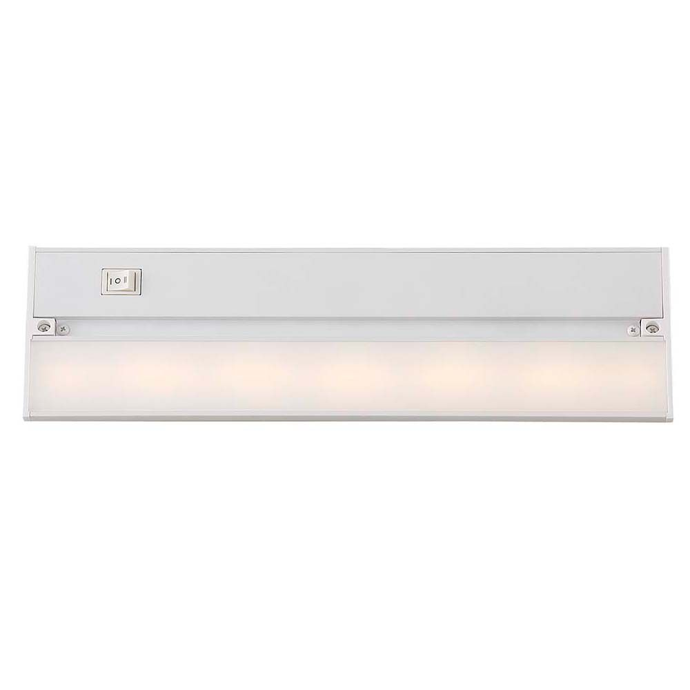 Acclaim 14 inch Contractor Grade LED Undercabinet Light Fixture Durable Aluminum Housing  - White