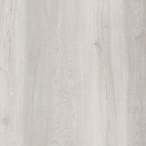Latte pour plancher, vinyle de luxe, 6 po x 36 po, Chêne Sandpiper, 24 pi2/boîte